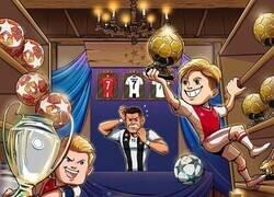 Enlace a Justo hoy hace un año, el Ajax dejaba sin Champions a la Juve de Cristiano, por @brfootball