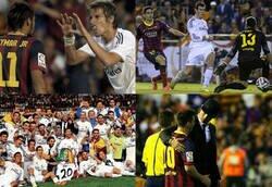 Enlace a Hoy se cumplen 6 años de la última Copa del Rey del Madrid. La de Bale y Bartra