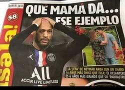 Enlace a La madre de Neymar