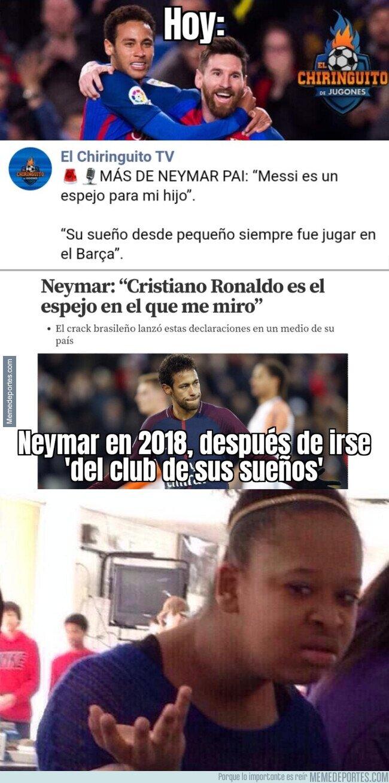 1102758 - Las contradicciones de Neymar y su padre sobre su futuro en el Barça
