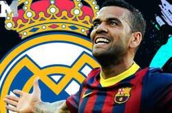 Enlace a Dani Alves destroza por completo al Real Madrid de Mourinho y todos los culés están aplaudiéndole