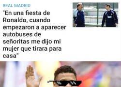 Enlace a Las declaraciones de Helguera que agranda la leyenda de las fiestas de Ronaldo