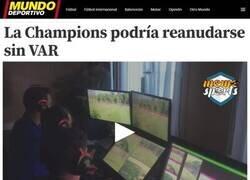 Enlace a El Coronavirus favorece al Madrid