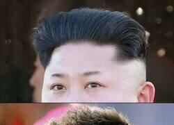 Enlace a Fue el hombre que inspiró el peinado de Messi. DEP