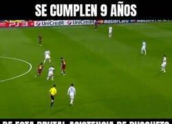 Enlace a El gol maradoniano de Messi en semis de Champions en el Bernabéu cumple 9 años