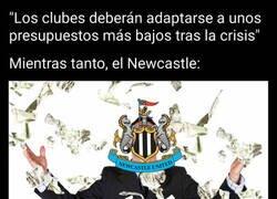 Enlace a Apuntan a que el Newcastle será una nueva potencia económica tras su cambio de propietario