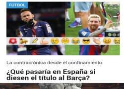 Enlace a La pregunta es: ¿Qué pasaría en Madrid?