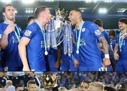 Enlace a 4 años después y yo aún no me creo que el Leicester fuera campeón de la Premier
