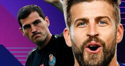 Enlace a Piqué recuerda el 2-6 y Casillas responde con un zasca que los madridistas están aplaudiendo