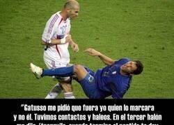 Enlace a Materazzi por fin revela la razón exacta por la que Zidane le agredió en la final de 2006