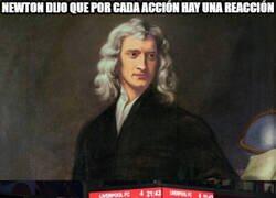Enlace a Si Newton levantase cabeza