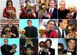 Enlace a De los últimos 21 ganadores del balón de oro, Ancelotti jugó o entrenó a 12 se ellos.