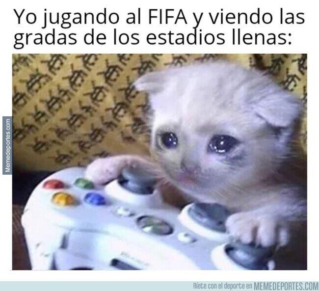 1103847 - Me pregunto si en el FIFA 21 pondrán la opción de jugar a puerta cerrada