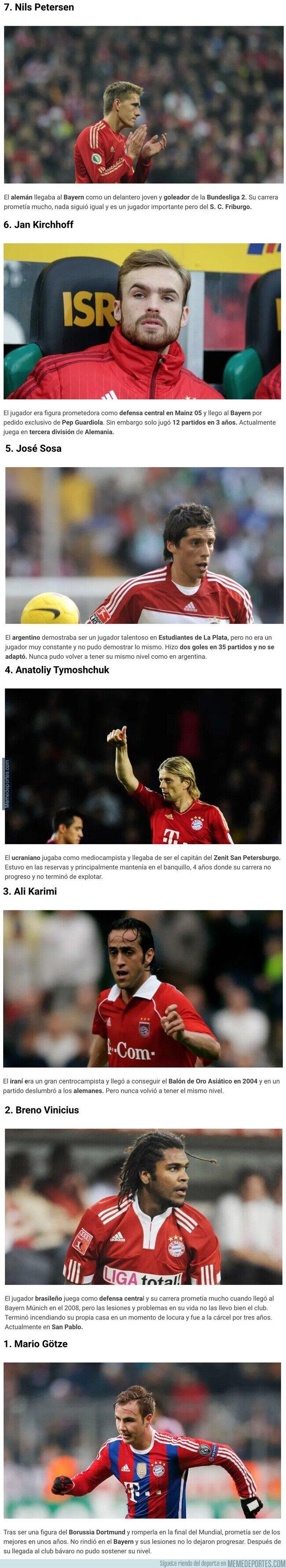 1103912 - 7 jugadores a los que se les arruinó la carrera cuando llegaron al Bayern Múnich