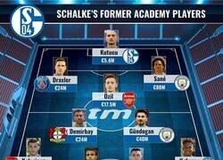 Enlace a El increíble 11 que conforman los canteranos del Schalke 04, por Transfermarkt