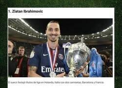 Enlace a Cinco futbolistas que fueron campeones de liga en cuatro países diferentes