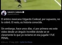 Enlace a La petición de Calderón a Codesal en este hilo recordando la final de Copa del Mundo en Italia '90