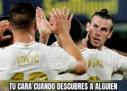 Enlace a Bale descubriendo a Jovic