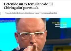 Enlace a El Chiringuito eligiendo tertulianos...