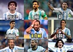 Enlace a 14 de mayo, día del futbolista argentino