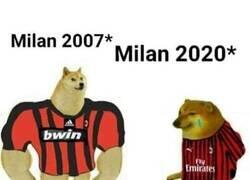 Enlace a Como han cambiado los fans del Milan