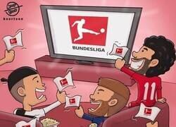 Enlace a Todo el mundo atento a la Bundesliga, por @koortoon
