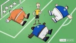 Enlace a Al Schalke le pasó factura el confinamiento, por @footytoonz