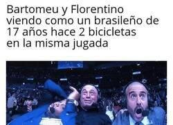Enlace a Bartomeu y Florentino con los brasileños...