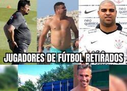 Enlace a Hay ex futbolistas y ex futbolistas