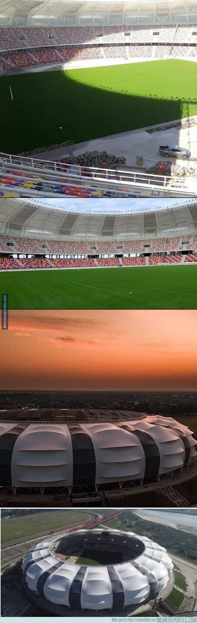1104886 - Terminó la construcción del Estadio Único de Santiago del Estero. Que se habría utilizado para la Copa América en menos de 20 días :(