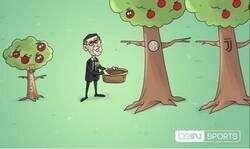 Enlace a Bartomeu busca fruta en otros árboles, por @footytoonz