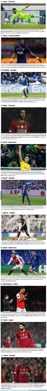 1105181 - El once ideal de jugadores africanos de la actualidad