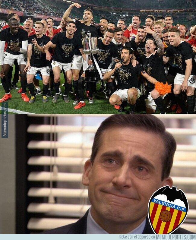 1105190 - Se cumple un año de la Copa del Rey valencianista