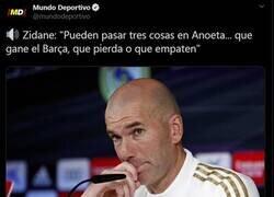 Enlace a No merecemos a Zidane