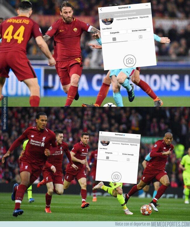1105261 - Como en Roma y en Anfield, Messi desaparece de Instagram