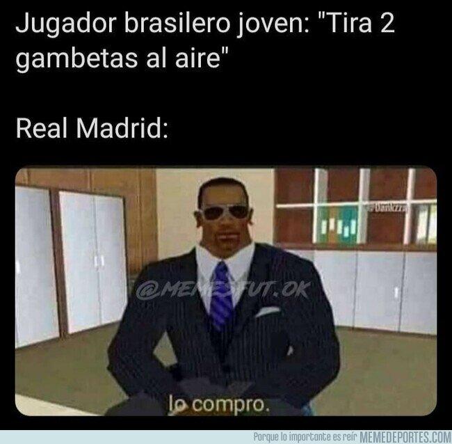 1105325 - Nacido para jugar en el Bernabéu, por @memesfut.ok