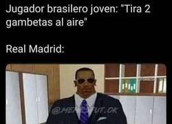 Enlace a Nacido para jugar en el Bernabéu, por @memesfut.ok