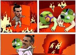 Enlace a Bale ve el fútbol como un trabajo