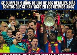 Enlace a 9 años de la cuarta Champions azulgrana