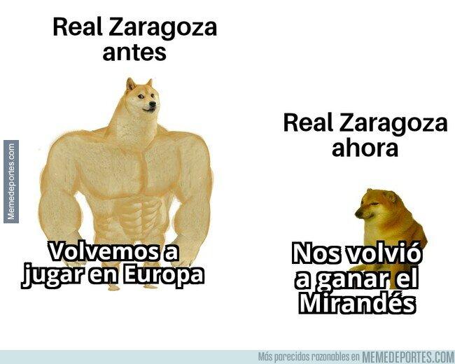 1105440 - Real Zaragoza antes vs ahora