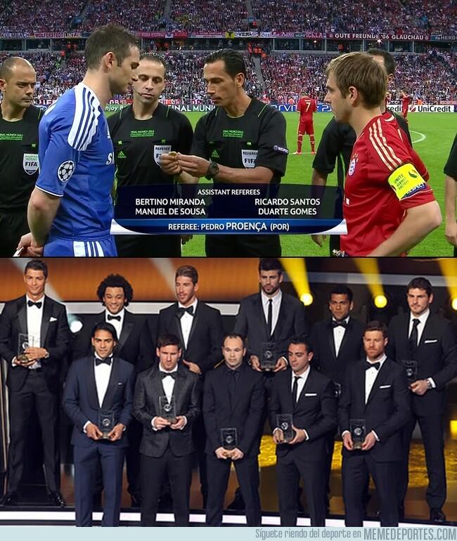 1105474 - El 2012 fue un año raro. La final de Champions fue un Chelsea-Bayern y el 11 ideal del año lo copó España