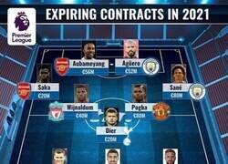 Enlace a El 11 ideal de jugadores de la Premier que acaban contrato la próxima temporada, por Transfermarkt