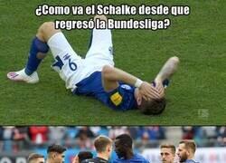 Enlace a Ojo que el Schalke esta en crisis y la amenaza del descenso se acerca