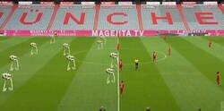 Enlace a La formación de los equipos que juegan contra el Bayern