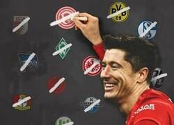 Enlace a Lewa ya le ha marcado a todos los equipos de la Bundesliga