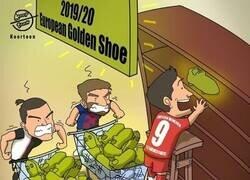 Enlace a Lewandowski aprovecha para ganar puntos para la Bota de Oro, por @koortoon