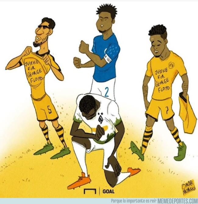 1105797 - El fútbol se une contra el racismo, por @goalglobal