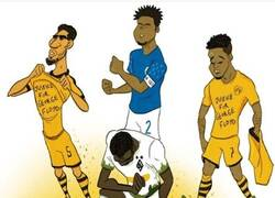 Enlace a El fútbol se une contra el racismo, por @goalglobal