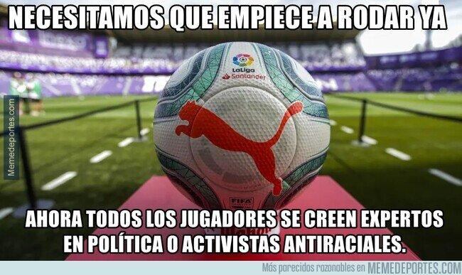 1105809 - Por eso es importante el fútbol. Mantiene callados a los que no deberían abrir la boca.