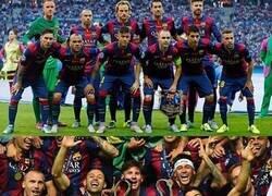 Enlace a 5 años ya del segundo triplete del Barça